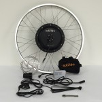 500 Watt. Front hub 36 volt direct drive motor electric bike conversion kit.