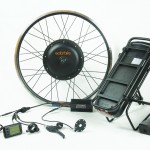 500W Electric Conversion Kit with 11Ah Rack Battery