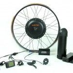 500W Electric Conversion Kit with 9Ah Panasonic Lithium Ion Battery