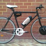Solarbike electric Fixie $1700