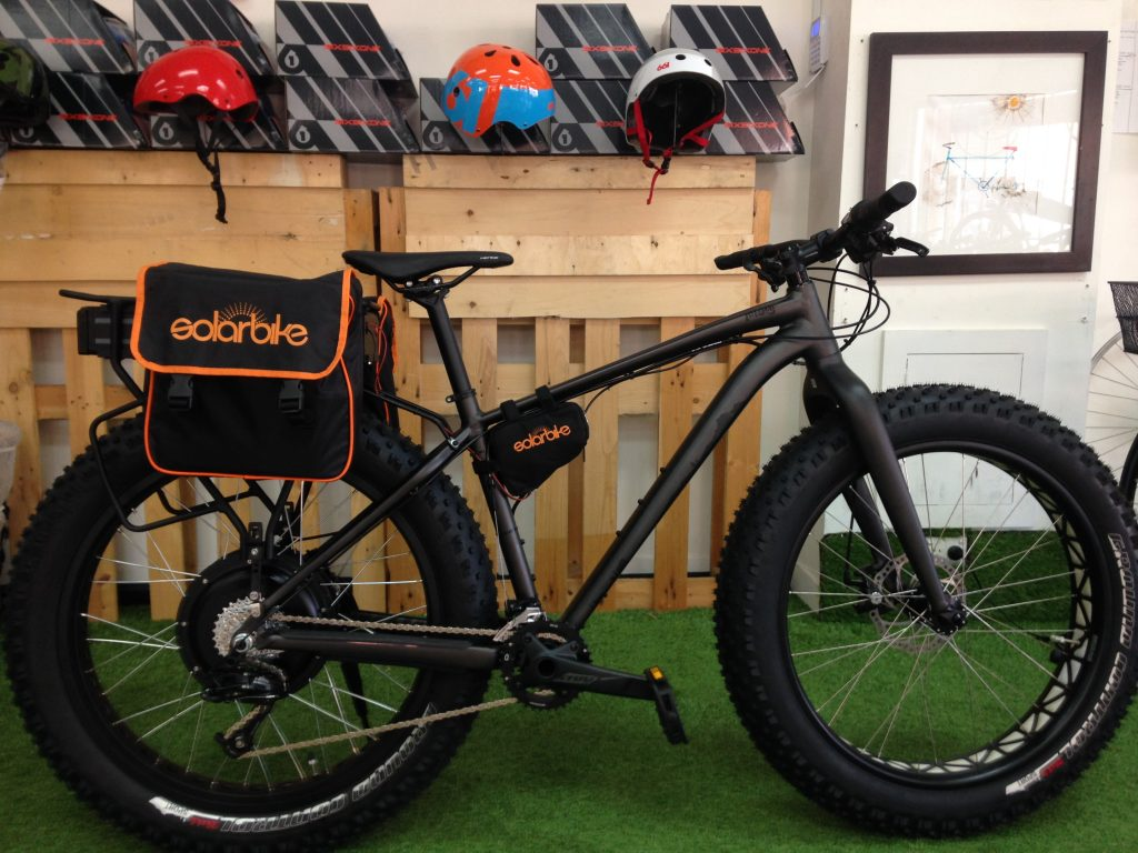 Quite possibly the ultimate E-bike!