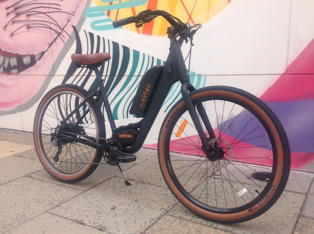 An upgraded version of the Norco Scene with hydraulic brakes and an electric conversion kit.